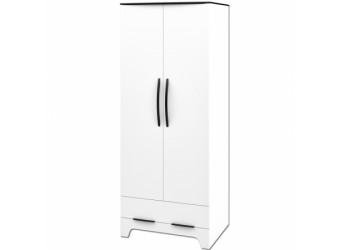 Двустворчатый распашной шкаф для одежды Верона МН-128-13