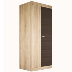 Двухстворчатый шкаф для одежды Веста МН-130-01