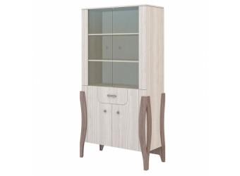 Шкаф-витрина для посуды Ирис МН-312-04