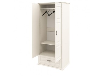 Шкаф двухстворчатый Марсель (крем) МН-126-05(1)