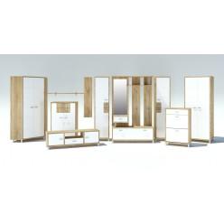 Мебель для прихожей Домино Сонома от Мебель-Неман композиция 2