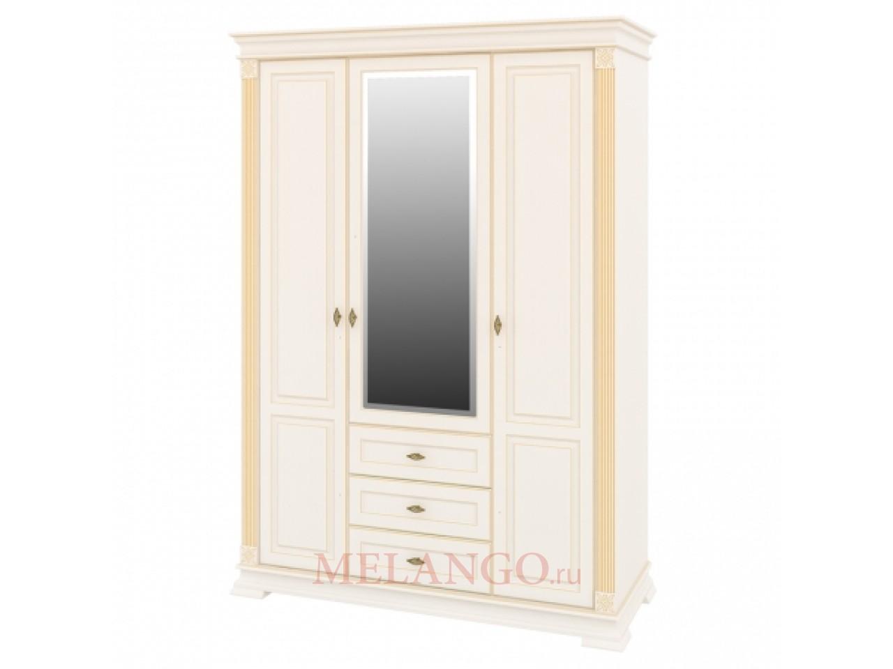 Шкаф трехстворчатый Афина МН-222-13