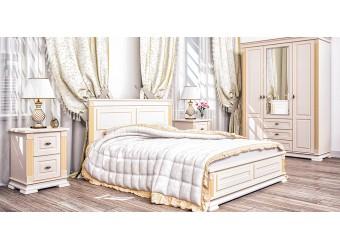 Двуспальная кровать с подъемным механизмом Афина МН-222-12