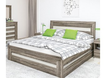 Двуспальная кровать Кристалл МН-131-01 с выдвижным ящиком