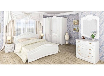 Спальня Орхидея (белая)