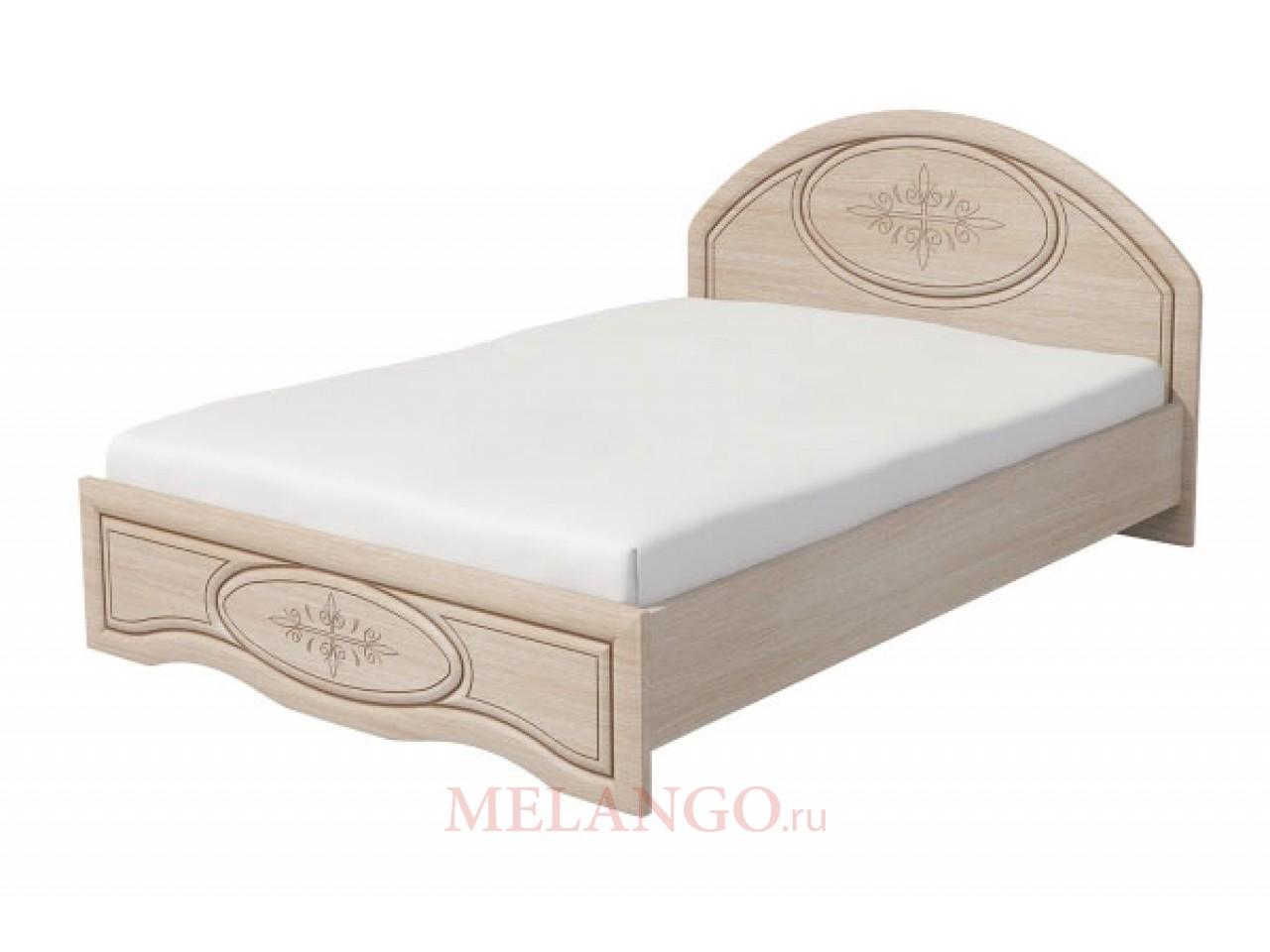 Двуспальная кровать  Василиса К1-160 М (с подъемным механизмом)
