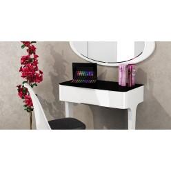 Пристенный туалетный столик с выдвижным ящиком в спальню Верона МН-024-07
