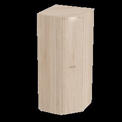 Угловой шкаф гардероб для спальни Элана, цвет Бодега белая
