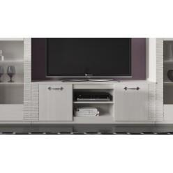 Тумба под телевизор для гостиной Элана, цвет Бодега белая