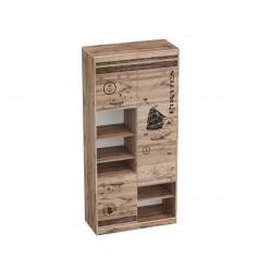 Шкаф стеллаж с тремя дверями Фрегат