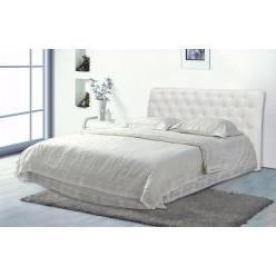 Двуспальная кровать с мягким изголовьем Леди Анна