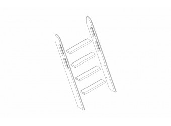 Пакет №8 Наклонная лестница для кровати Соня