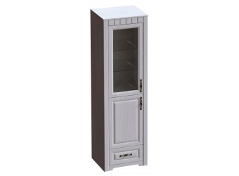 Шкаф-витрина Прованс однодверный