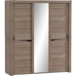Шкаф для одежды Соренто Дуб стирлинг с раздвижными дверями
