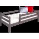Кровать Соня Лаванда вариант 2 с защитой по периметру