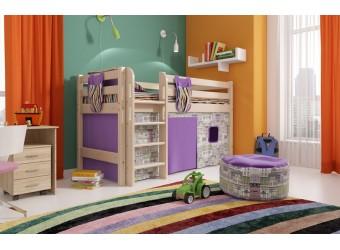 Детская кровать-чердак Соня Вариант-11