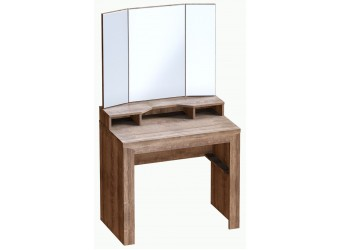 Туалетный столик Соренто с зеркалом Дуб стирлинг