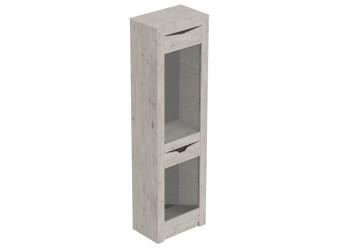 Шкаф-витрина Соренто дуб бонифаций