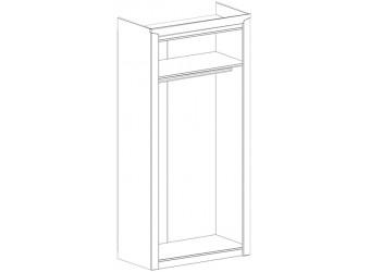 Шкаф для одежды двухдверный Соренто