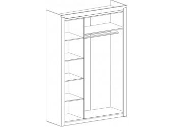 Шкаф для одежды трехдверный Соренто