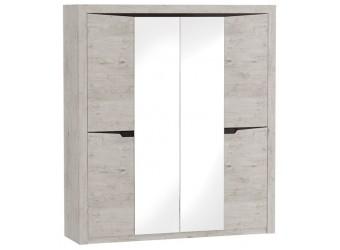 Шкаф для одежды четырехдверный Соренто