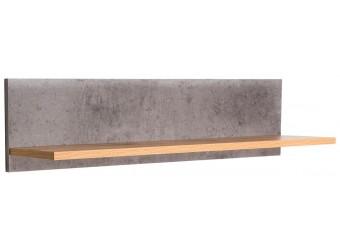 Настенная полка Хелен 2207 (бетон чикаго)