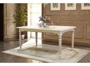 Стол обеденный  Давиль ММ-126-24 (белая эмаль)