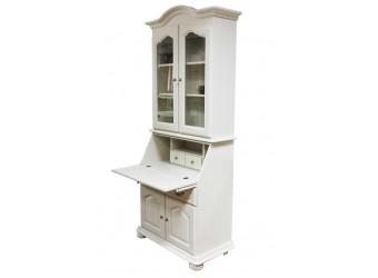 Шкаф с витриной  Давиль ММ-126-65 (медовый дуб)