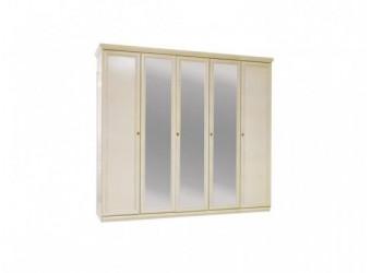 Шкаф для одежды Нинель ММ-167-01/05 (белая эмаль)
