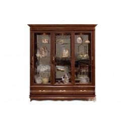 Шкаф с витриной Оскар ММ-210-03 (орех)