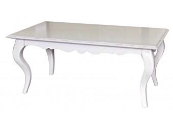 Стол журнальный Оскар ММ-210-20 (белая эмаль)