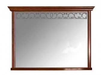 Зеркало Оскар ММ-210-28 (орех)