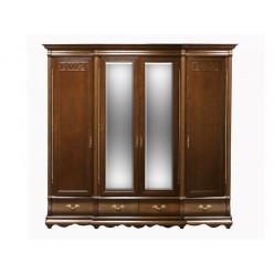 Шкаф для одежды Оскар ММ-216-01/04 (орех)