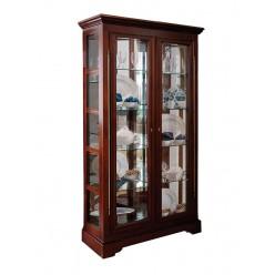 Шкаф с витриной Полонез ММ-174-06 (черешня)