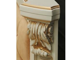 Тумба «Альба 14/1» П485.14/1с (слоновая кость с золочением)
