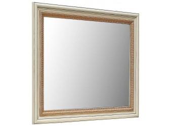 Зеркало «Альба 13» П524.13 (слоновая кость с золочением)