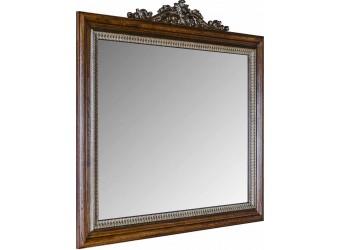 Зеркало «Альба 13» П524.13к (палисандр с золочением)