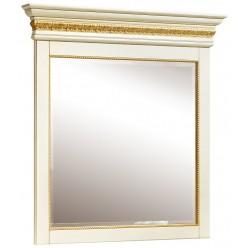 Зеркало настенное «Милана 13» П294.13 (слоновая кость с золочением)