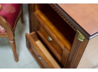 Письменный стол «Валенсия 9» П444.14 (каштан)