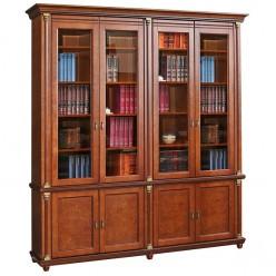 Книжный шкаф «Валенсия 4» П444.24 (каштан)