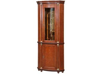 Шкаф-витрина для гостиной «Валенсия 1уз» П244.13 (каштан)