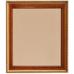 Зеркало настенное «Валенсия 1» П254.61 (каштан)