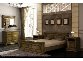 Спальня «Верди Люкс» 2 (дуб рустикаль с патинированием)