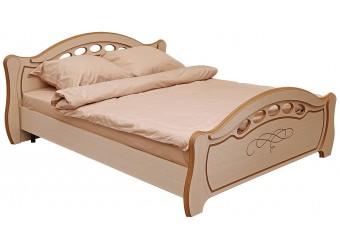 Кровать двуспальная «Александра» П251.51 (дуб белфорд)