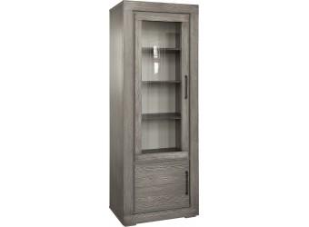 Шкаф с витриной Байс 2619-01Бр