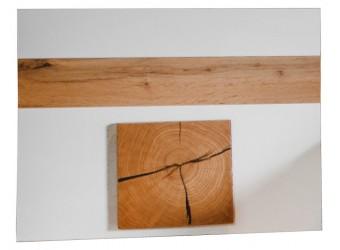 Щит декоративный «Гелиос» П554.05 (дуб вотан/белый глянец)