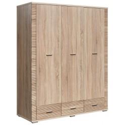 Шкаф для одежды «Гресс» П501.12 (дуб сонома светлый)