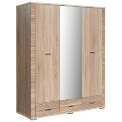 Шкаф для одежды «Гресс» П501.13 (дуб сонома светлый)