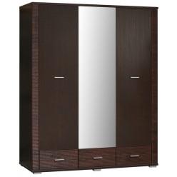 Шкаф для одежды «Гресс» П501.13 (дуб сонома темный)