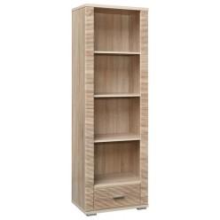 Шкаф «Гресс» П501.01 стеллаж (дуб сонома светлый)
